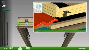 fakro roof windows ftp v and ezv flashing tile youtube