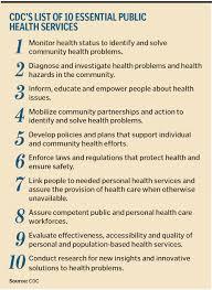public health for private health care
