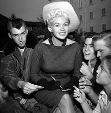 Jane Mansfield Jayne Mansfield To Tour Area Hospitals Appear For Gis News