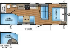 jay flight trailers floor plans jayco jay flight elite 26 u0027 bunkhouse 0670214 tcrv