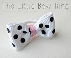 Bowring Home Decor by The Little Bow Ring Tutorial Sweet Charli