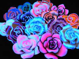 kandi beads tie dye flower beads diy jewelry beads assorted lot of
