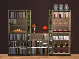 mod the sims ikea bookcases emptied with 21 slots