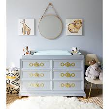 ja crafted by fisher price deluxe double dresser modern