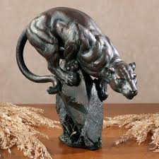 home sculptures panther table sculpture
