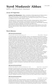 Sample Resume For Hr And Admin Executive Hr Executive Resume Samples Visualcv Resume Samples Database