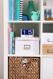 Ikea Storage Bins by Home Office Organization With The Ikea Kallax Shelf