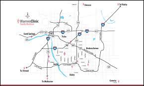 Kenosha Map Hwy 51 U0026 Kenosha Tulsa Ok Warren Clinic Family Medicine