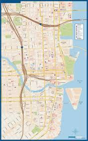 Miami Beach Map Miami To Palm Beach Metro Map Digital Creative Force