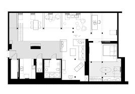 office attic converted into loft apartment keeping original wood