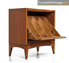 mid century record cabinet mid century modern lane record cabinet