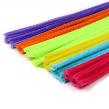 assorted pipe cleaners 60 pack hobbycraft