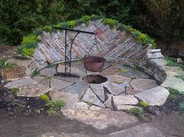inspiration design exterior garden fire pit natural exterior