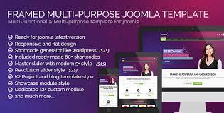 framed multipurpose joomla template by bdthemes themeforest