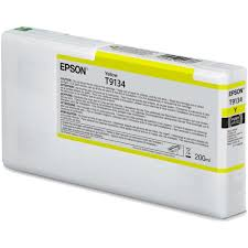 si e de epson t9134 yellow ink cartridge 200ml c13t913400