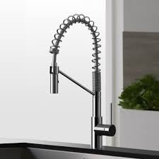 Moen Commercial Kitchen Faucets Modern Kitchen Faucet Kohler K75474 Purist Double Handle Bridge