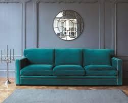 canap velours canapé dandy velours bleu de maisons du monde qui va plaire à