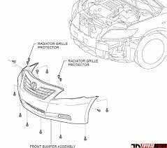 1999 toyota camry front bumper can somebody me diagram how to take the front bumper