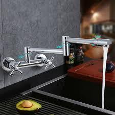pot filler kitchen faucet glendale dual handle pot filler kitchen faucet with 360 degree