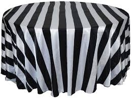 Table Cloths For Sale Black And White Striped Tablecloth For Sale Approximately 114