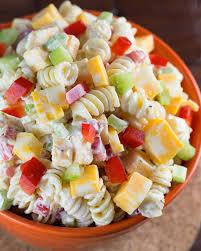 Creamy Pasta Salad Recipes 20 Crazy Good Pasta Salad Recipes Perfect For Parties