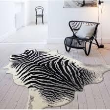 Zebra Area Rugs Modern Contemporary Zebra Print Rug Allmodern