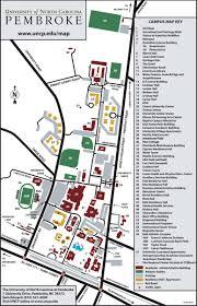 Map Of N Carolina Directions To Unc Pembroke The University Of North Carolina At