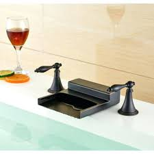 Vessel Sink Waterfall Faucet Waterfall Faucets For Bathroom Sinks Single Handle Waterfall