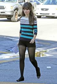 zooey deschanel new girl fashion wwzdw what would zooey deschanel s blue striped sweater from new girl wwzdw what