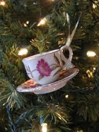 weatherley porcelain miniature ornament teacup saucer