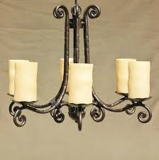 Tuscan Style Chandelier Tuscan Chandelier Forged Wrought Iron New