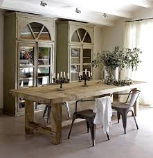 country style dining table rustic wood dining table with tolix chairs everything else about