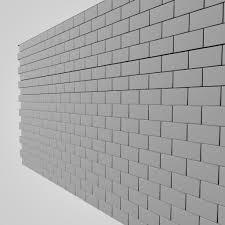 wall 3d c4d
