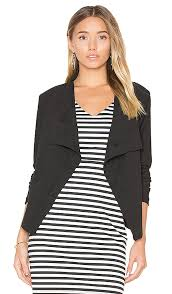 bb dakota bb dakota nanette jacket in black revolve