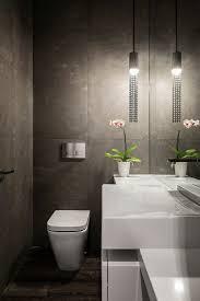 Kleine Badezimmer Design Im Gäste Wc Ist Die Beleuchtung Von Großer Bedeutung Bad