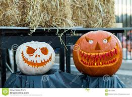 scary halloween pumpkins stock photo image 58722658