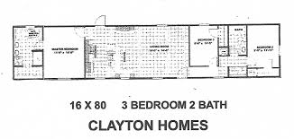 extremely ideas 16 x 80 mobile home floor plans 2 clayton yes