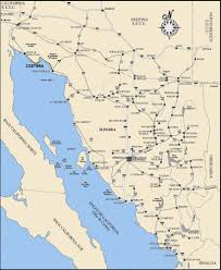 Mesa Arizona Map by Maps Puerto Penasco Mexico