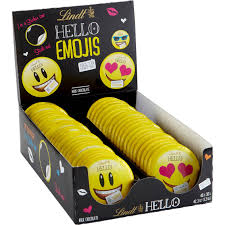 lindt halloween candy lindt chocolate hello emojis chocolate treats 40 ct ghoulish