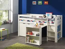 Schreibtisch 90 Funktions Hochbett Pino Mit Schreibtisch Und Kommode Kiefer Weiß