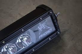 Led Light Bar Installation by Radiating Light Installing A Rigid Industries Radiance Led Light