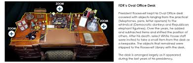 Oval Office Desk Fdr Museum Fdr S Oval Office Desk