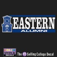 alumni decal eastern connecticut state bookstore colorshock alumni