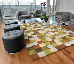 6 X 6 Area Rug 3 X 6 Rug Retro Modern Abstract Grey Distressed Area Rug X 3