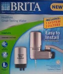 Britta Faucet Filter Brita On Tap Faucet Water Filter Review Best Water Filter Reviews