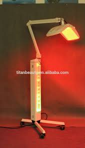led pdt bio light red therapy wound healing and hair regrowth