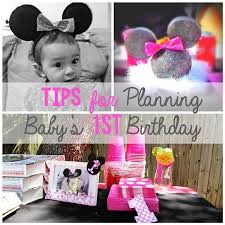 ideas for baby s birthday planning baby s birthday party this has been a time
