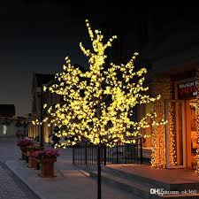 cheap handmade artificial led cherry blossom tree light new