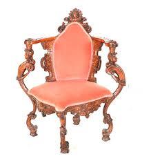 mid 19th century victorian rococo revival corner chair ebth