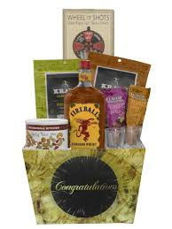 whiskey gift basket build a basket fireball cinnamon whiskey congratulations gift